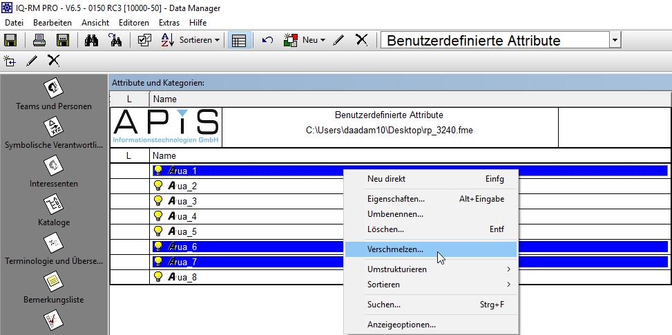 Verschmelzen von Benutzerdefinierten Attributen ermöglichen (RP-3240)