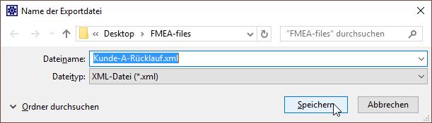 XML Datei unbenennen