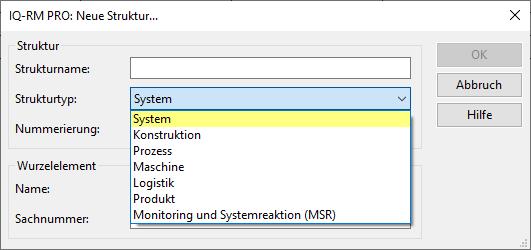 Alle FMEAtypen von der IQ-Software möglich