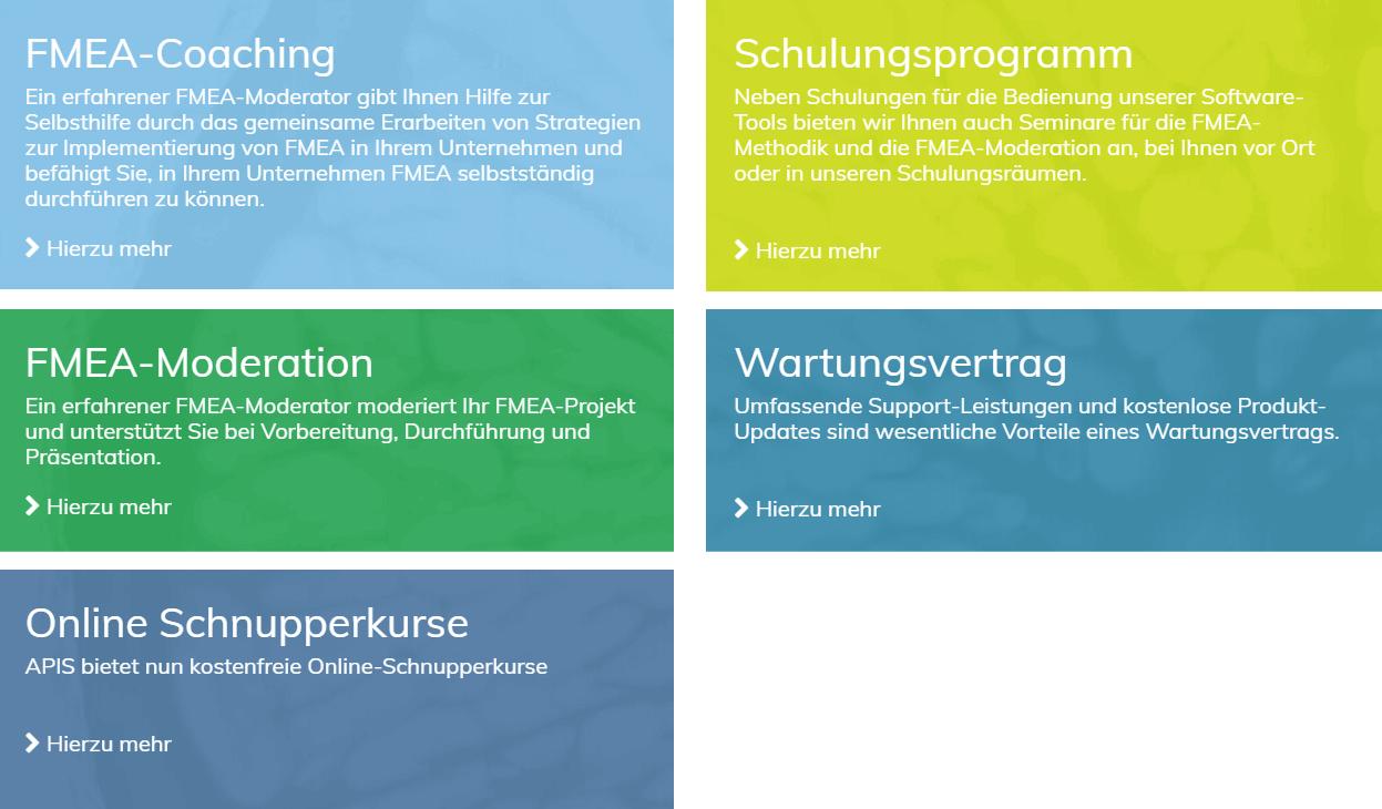 APIS Dienstleistungen