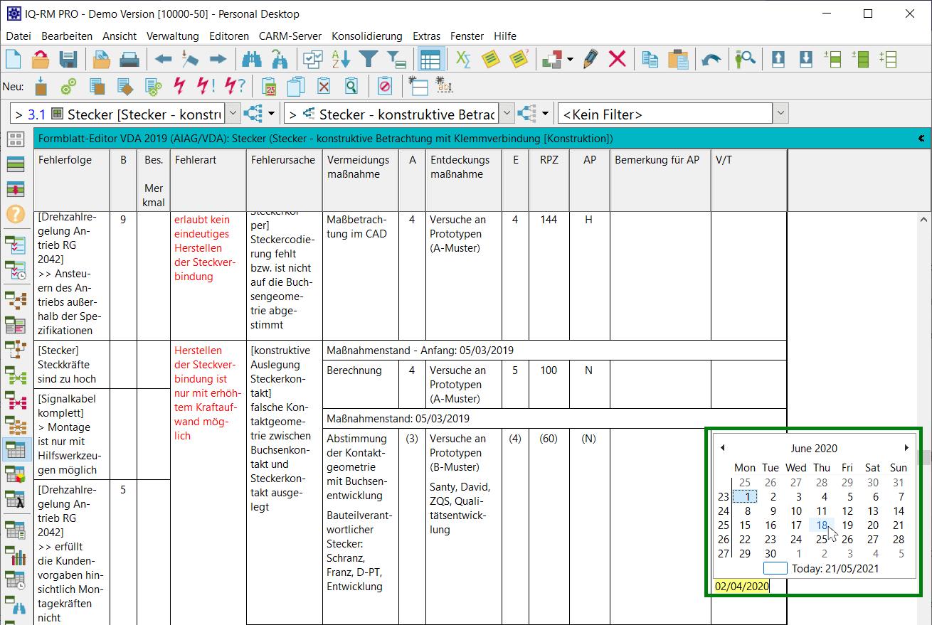 V7-5185 Date-Picker